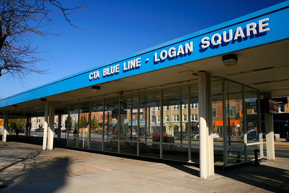 Logan Square Neighborhood Photo
